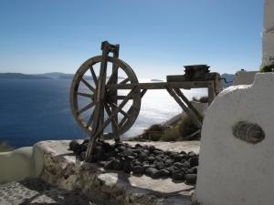 Santorini - Fira town