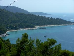 Skopelos bay