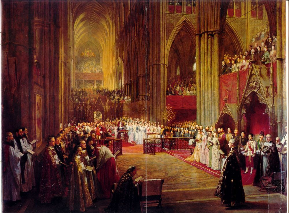 Jubilee Celebration in Westminster Abbey