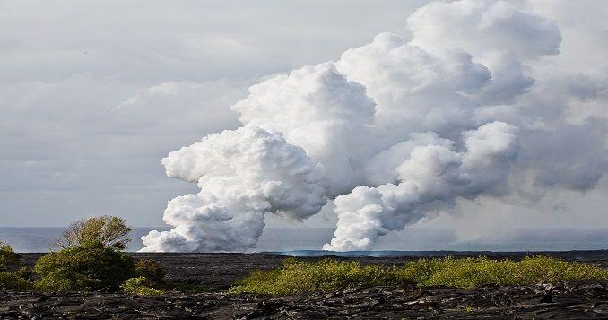 Pahoa Kilaue lava flow