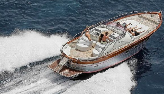 Boating around Ibiza