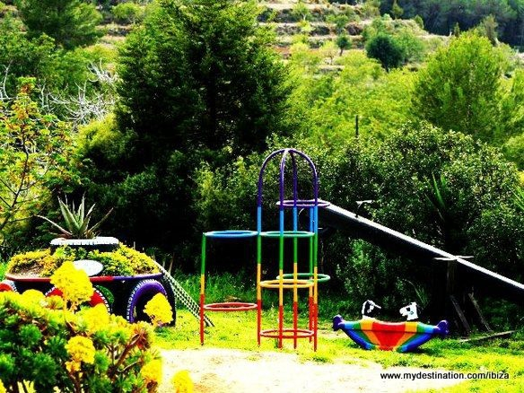 Playgrounds in the countryside