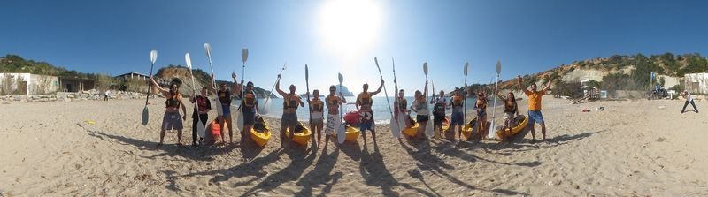 Ibiza Kayak Team!