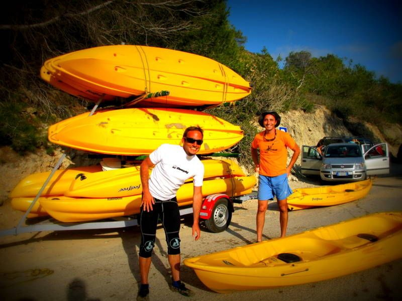 Ibiza kayaking