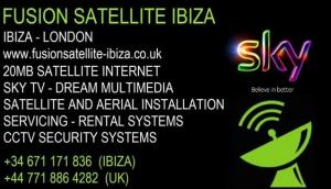 Fusion Satellite Ibiza
