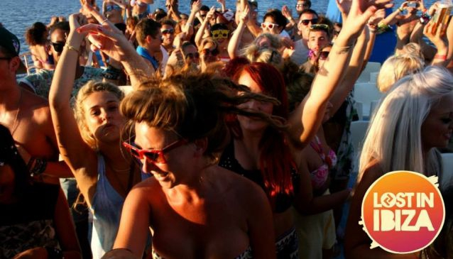 Lost in Ibiza Sunset Boat Party