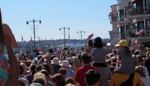 The Day The Queen Visited Cowes
