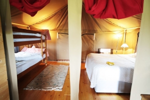 Bedrooms - IOW Glamping