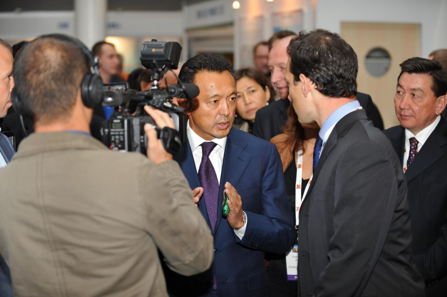 Almaty business conference