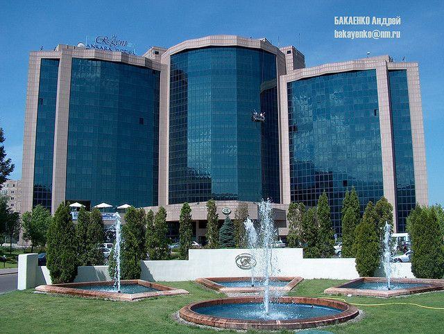 Almaty Intercontinental Hotel, Flickr credit Andrey Bakayenko