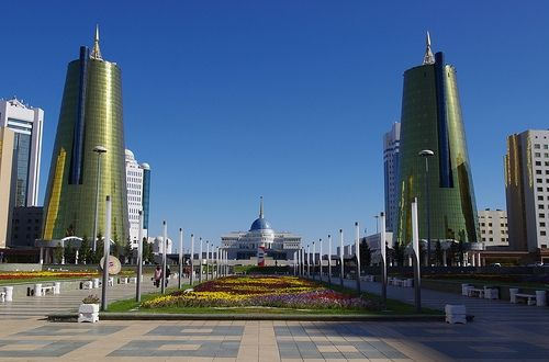 Downtown Astana.