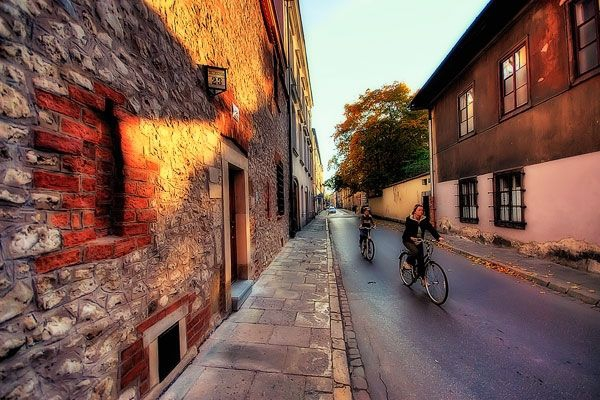 Cycling in Krakow