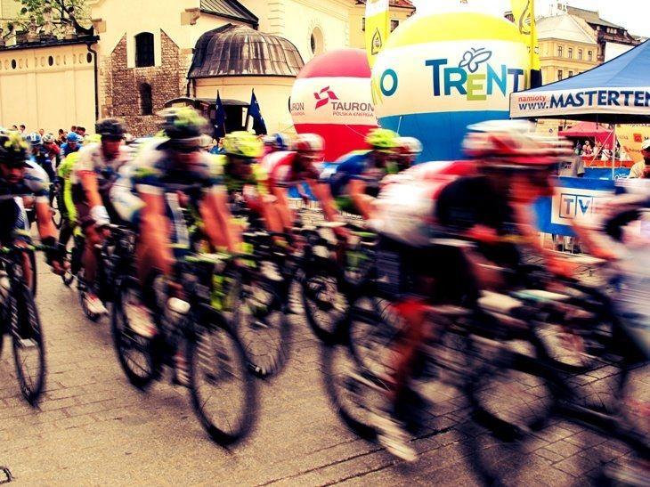 Tour de Pologne in Krakow