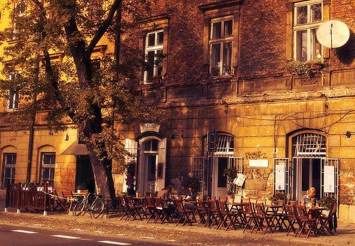 Mostowa Street. From Kazimierz to Podgorze.