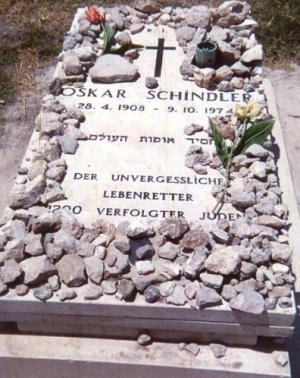 Schindler's grave - Jerusalem