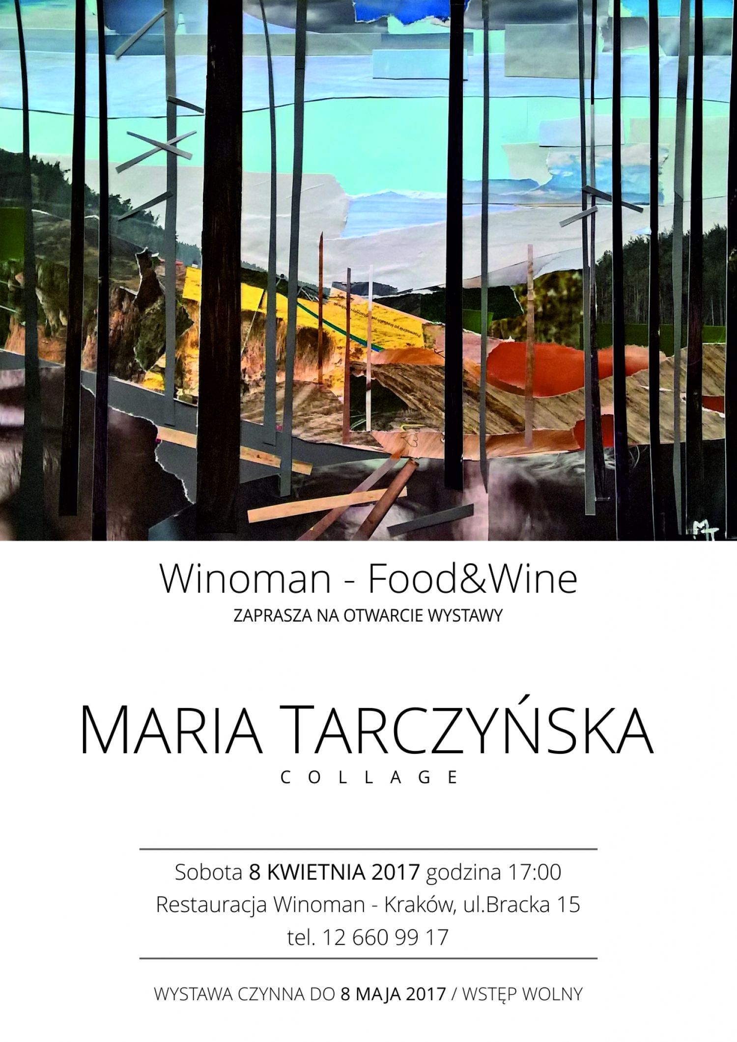"""Collage"" - opening of the exhibition of Maria Tarczyńska works"