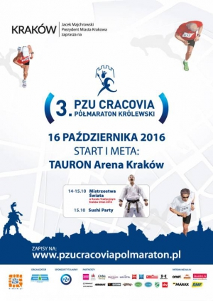 3. PZU Cracovia Półmaraton Królewski