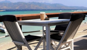 Dining in the Gili Islands