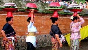 Perang Topat Festival in Lombok