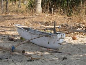 Fishing Boat on Nipah Beach