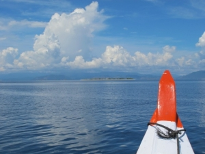 Gili Kondo view from the boat