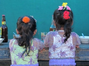 Girls in their traditional Balinese Dress