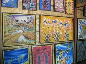 Hand painted Batik
