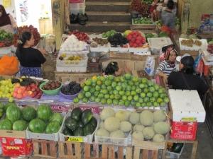 Kebon Roek Market - fruit section