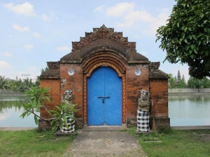 Mayura Water Palace Blue Door