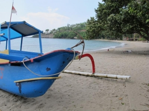 Senggigi Beach - Fishing Boat