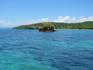 Small island near Pink Beach