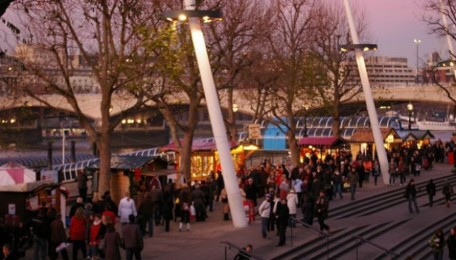 South bank Centre Christmas Market