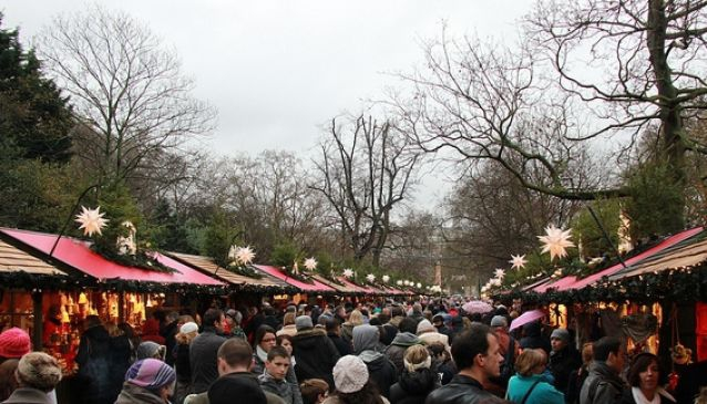 Hyde Park Winter Wonderland Christmas Market