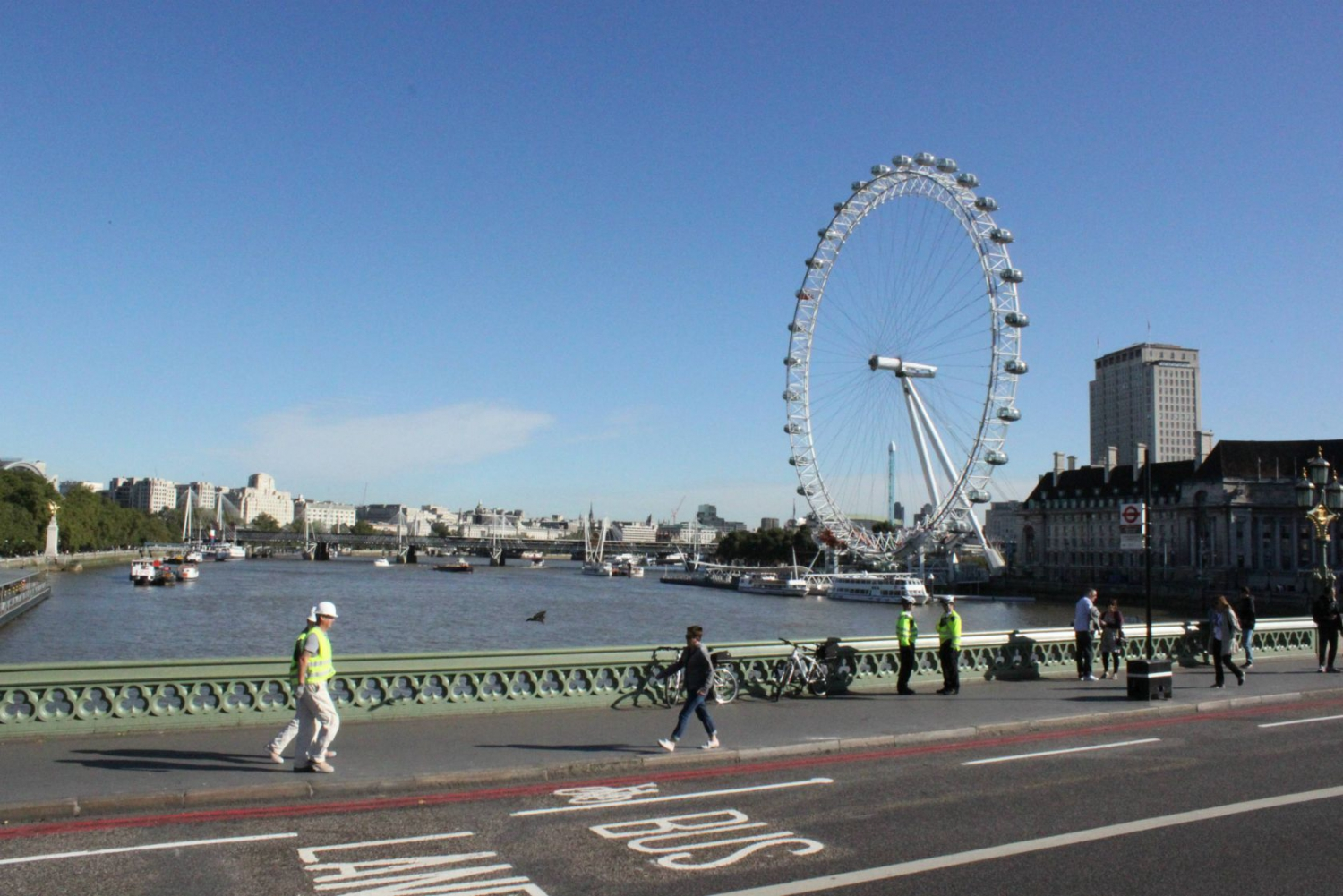 The Eye from Westminster Bridge