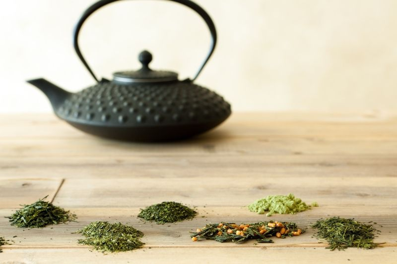 Detoxifying Japanese Teas