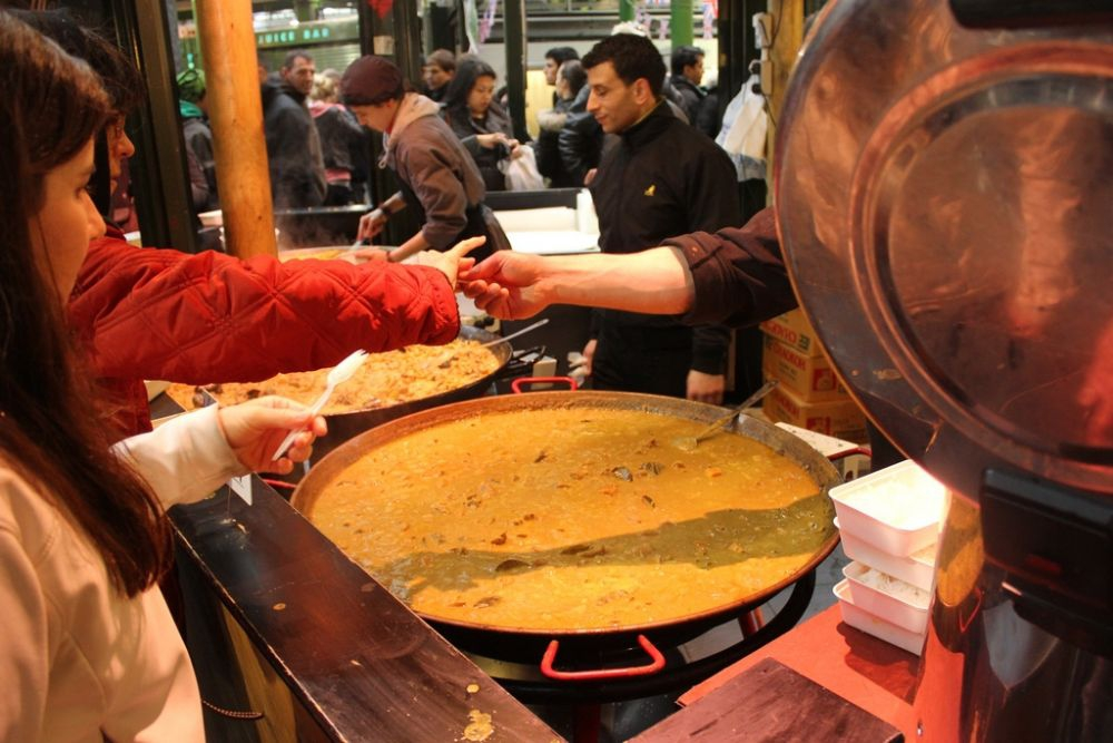 Curries at Borough Market