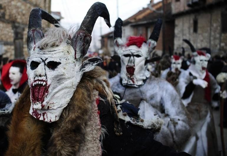 Scary pagan masks, millennia long tradition (Photo by: Mun. of Vevcani)