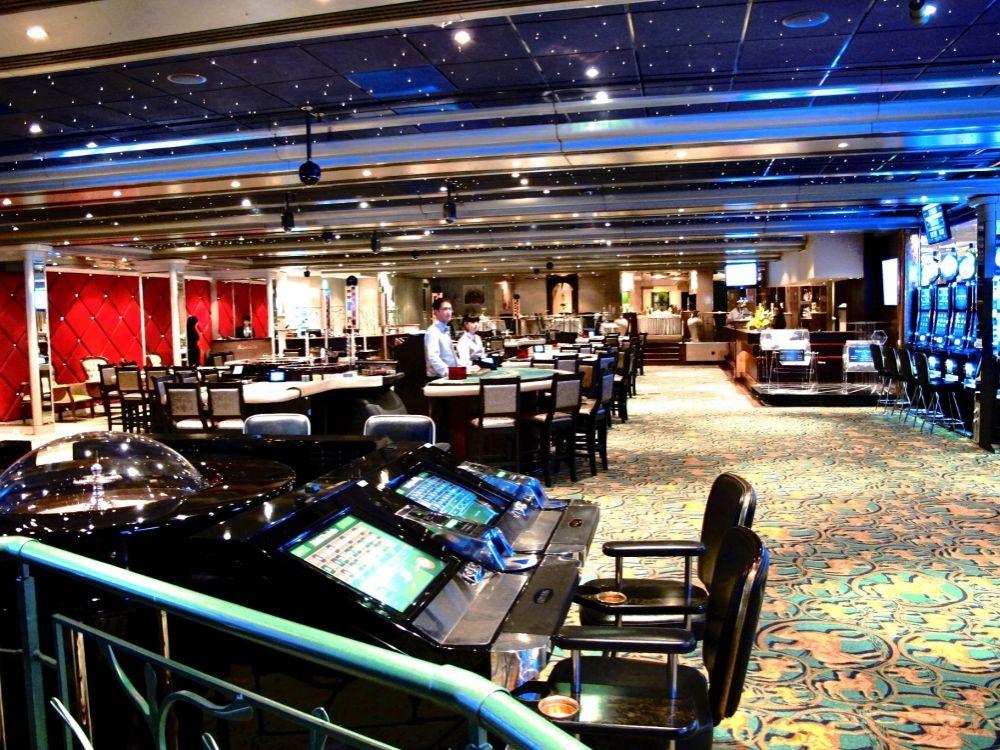 Casino Floor (view from the slot machines)