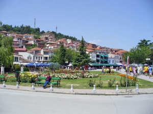 Ohrid Central Square