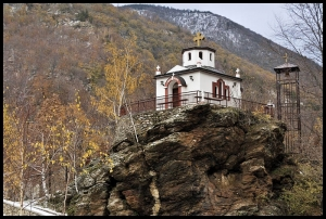 Church on Mt. Kozhuf (photo by: D. Stojanova)