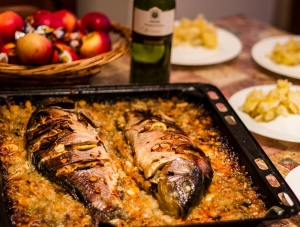 Macedonian Cuisine - Carp (photo by: Marjan L.)
