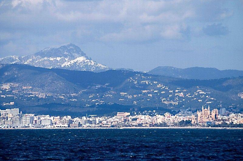 Palma de Mallorca at daytime