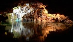 Visit a cave