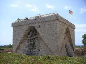 Castillo on Punta n'Amer
