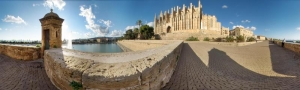City walls panorama - Palma
