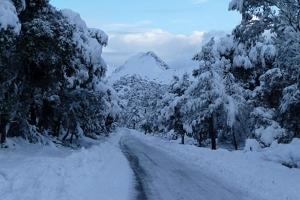 Mallorca snow 2010