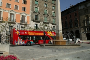 Sightseeing bus in Palma