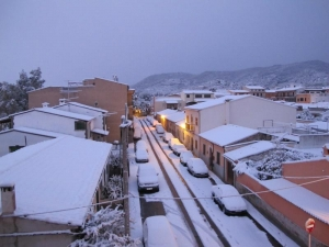 Snow in Alaró - Feb 2012