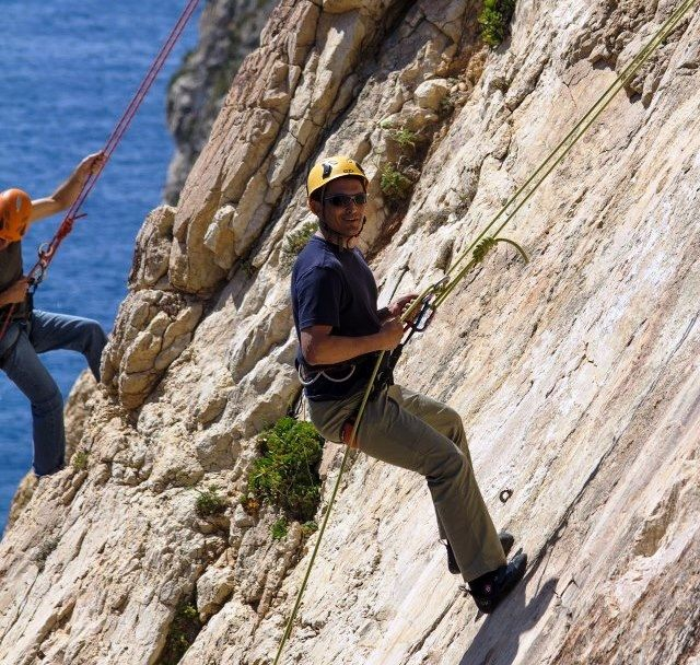 Abseiling with MC Adventure