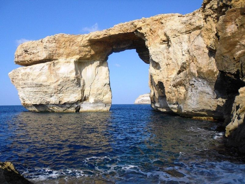 The Azure Window, Gozo